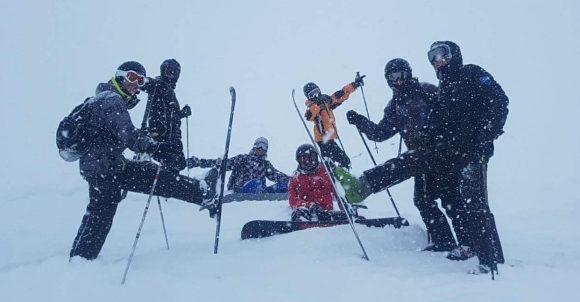 weekend ski