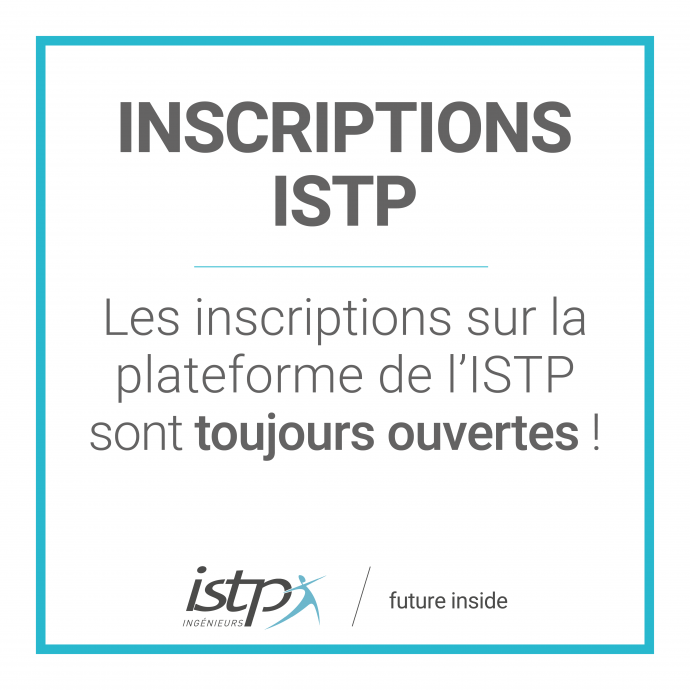 inscription ISTP