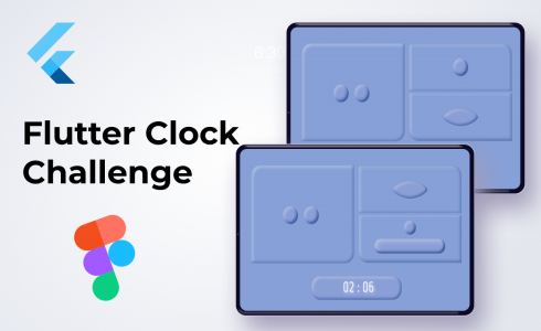 Flutter Clock Challenge