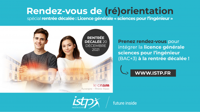 RDV réorientation licence ISTP