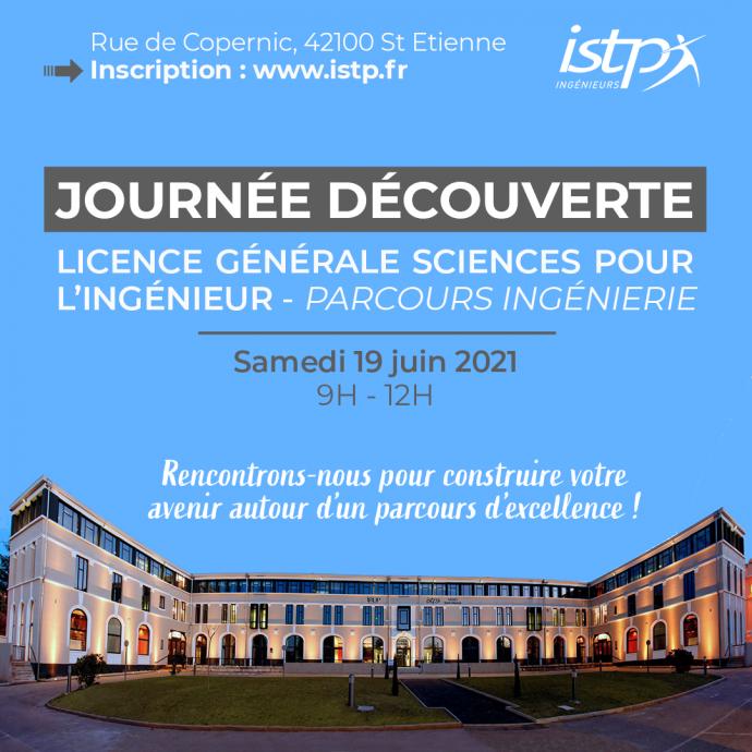 journée découverte ISTP licence sciences ingénieur 19 juin