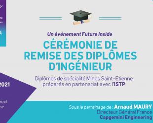 remise de diplomes ISTP Mines Saint-Etienne 2021
